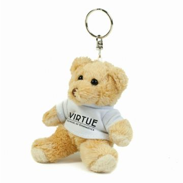Virtue Teddy Keyring